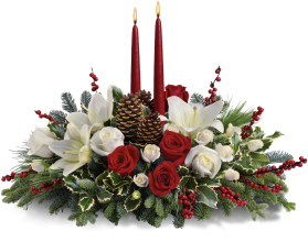 Chritmas Wishes Centerpiece