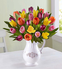 Welcome Spring Tulip Bouquet