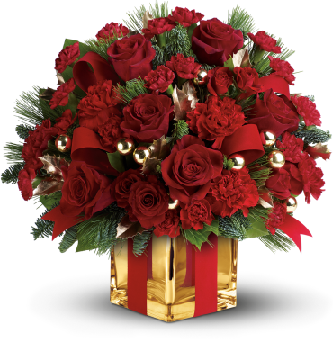 All Wrapped Up Bouquet by Teleflora