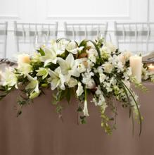The White Linen Arrangement
