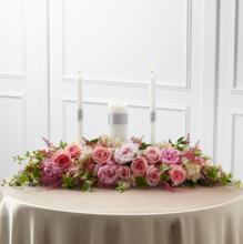 The Worldwide Romance Unity Candle Arrangement