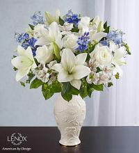 Loving Blooms Lenox Blue & White