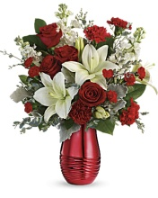 Radiantly Rouge Bouquet
