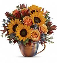 Golden Gratitude Bouquet