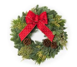 Large Grave Side Wreath 24""
