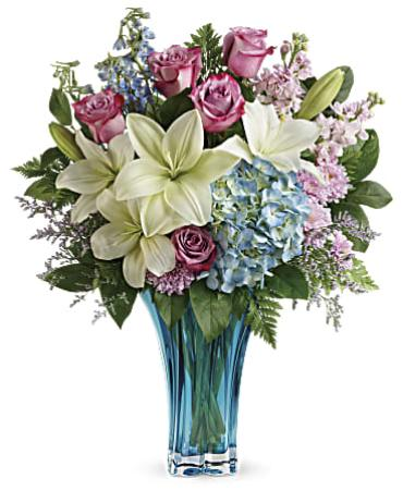 Heart\'s Piroutte Bouquet