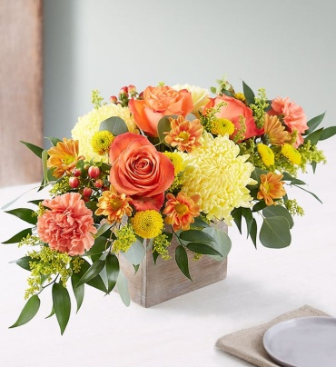 Seasonal Sunset Centerpiece