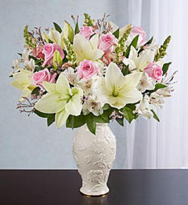 Loving Blooms Lenox Pink & White