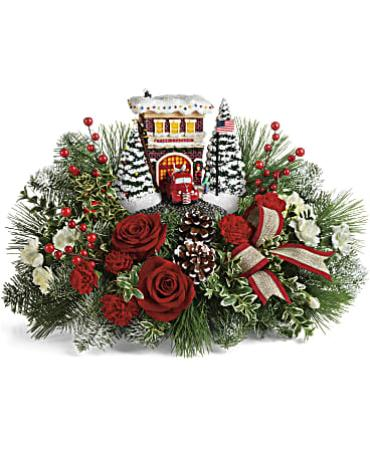 Festive Fire Station Bouquet