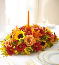 Field of Europe Centerpiece for fall